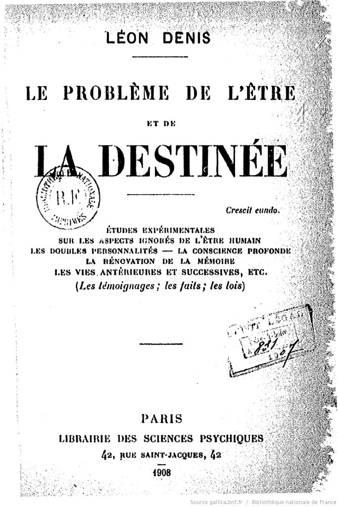 Primeira edição do livro o Problema do Ser, do Destino e da Dor