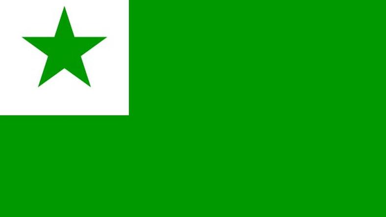 Bandeira oficial do Esperanto