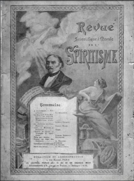 Capa do primeiro número da Revista Científica e Moral do Espiritismo