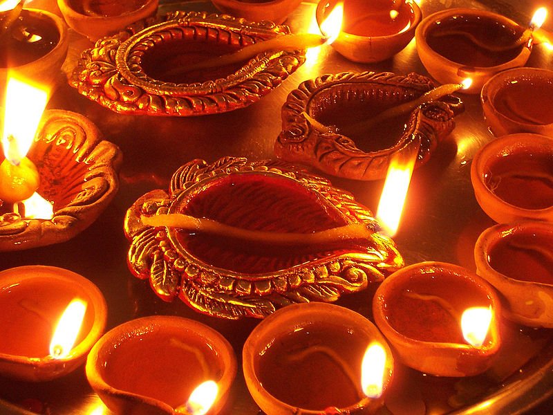 Lamparinas - Festival das Luzes - Indía